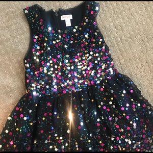 Gorgeous Cat & Jack glitter party dress